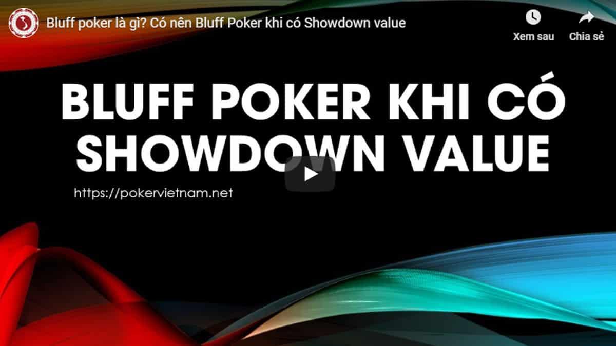 cách chơi poker, chơi poker, mẹo chơi poker, poker bluff, bluff poker, bluff
