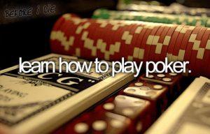 Học cách chơi Poker