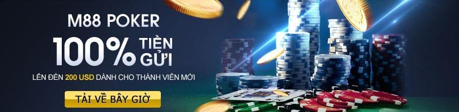 M88 Poker online trực tuyến