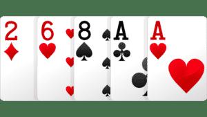 một đôi, pair, bài poker 1 đôi, xì tố 1 đôi, poker pair, pair poker