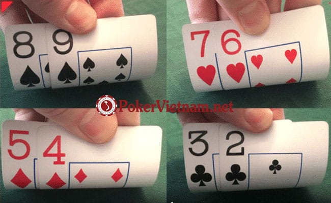 bài poker, suited, offsuit, connector, suited connector, poker suited connector là gì, bài poker đồng chất liên tiếp, chơi bài poker như thế nào, poker hand là gì