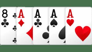 tứ quý, poker tứ quý, poker tứ quý át, tứ quý át