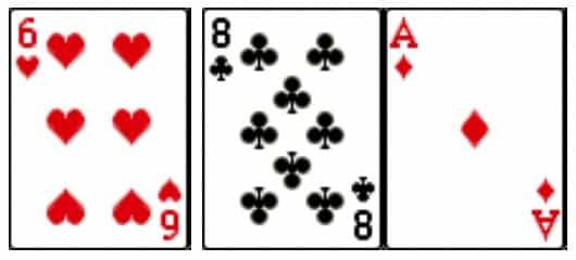 Poker flop, đry flop, flop ra mặt mua sảnh, sảnh 2 đầu, mua sảnh 2 đầu, chơi bài poker khi flop ra mặt mua sảnh
