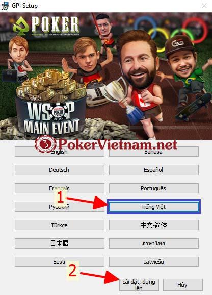 cài đặt poker, cài đặt game poker, cài đặt ứng dụng Poker, poker online trên máy tính